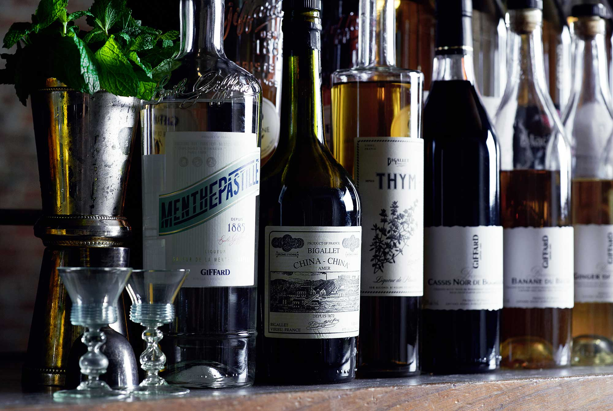 Back Bar Project – Curator of Fine Spirits
