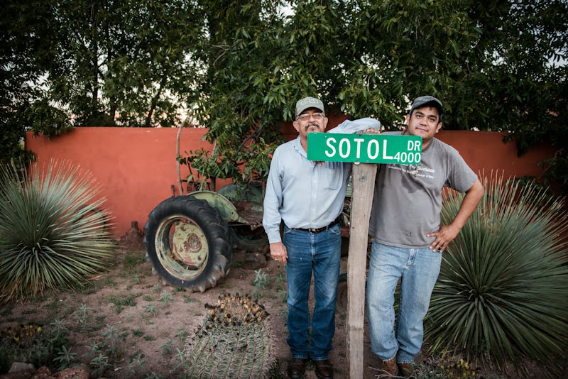 6th generation family-owned producer working with Sotol Por Siempre