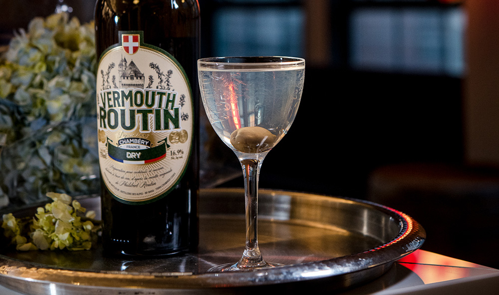 Vermouth Routin Fifty-Fifty Martini