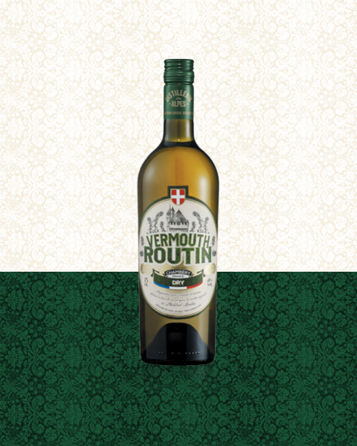 Vermouth Routin Dry bottle