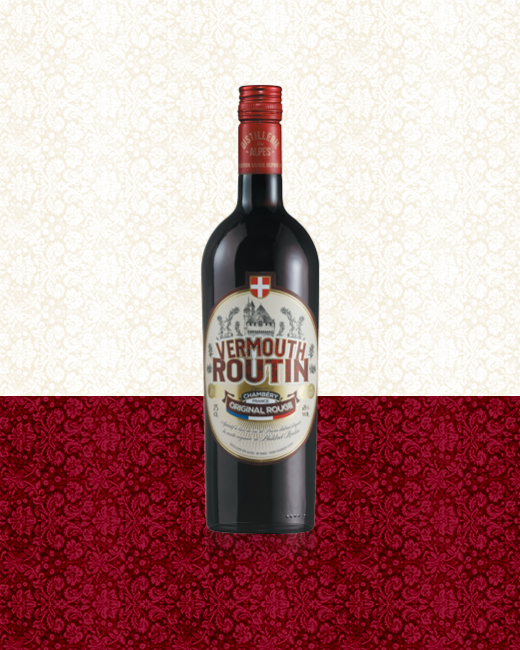 Vermouth Routin Original Rouge bottle