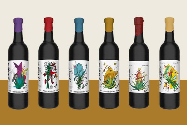 El Jolgorio black bottle range